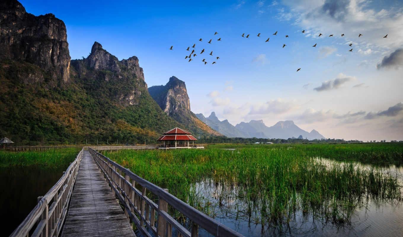 таиланд, singapore, июл, самостоятельно, park,