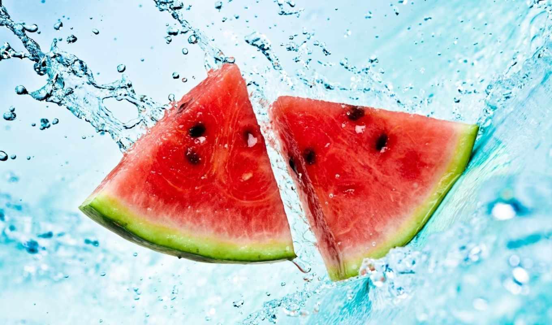 фрукты, арбуз, click, one, воде, производить, еда, напитки, знаменитости, высококачествен,