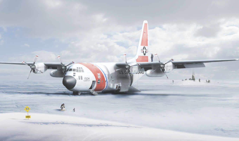 самолет, антарктида, пингвин, табличка, картинку, картинка, кнопкой,