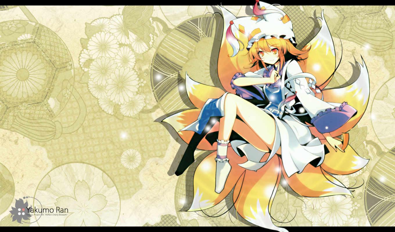 touhou, anime, image, ½project, yakumo, you, favorites, ran,