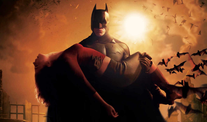 batman, begins, плакат, аватар,