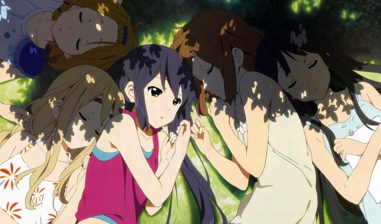 уи, адзуса, категории, hirasawa, кумари, nakano, мио, дневнике, легкой, anime, музыки,