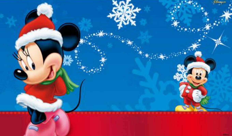 mickey, mouse, disney, christmas, cartoon, calendar, новогодние, год, новый,