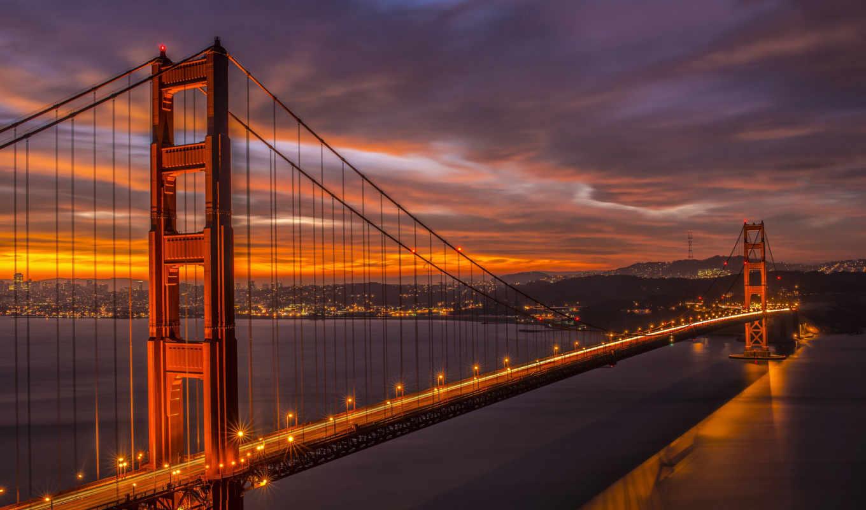 san, francisco, золотые, мост, дверь, июня,