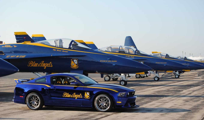 blue, angels, mustang, истребитель, реактивный, ford, красивый, подборка,