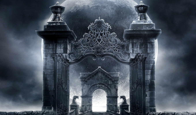 gothic, art, fantasy,