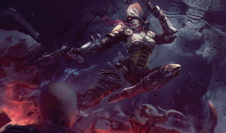 diablo, iii, hunter, демон,
