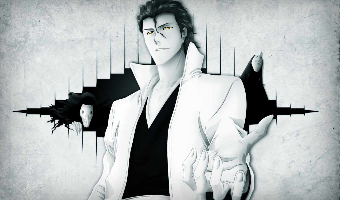 айзен, bleach, sosuke, anime, awesome, free,
