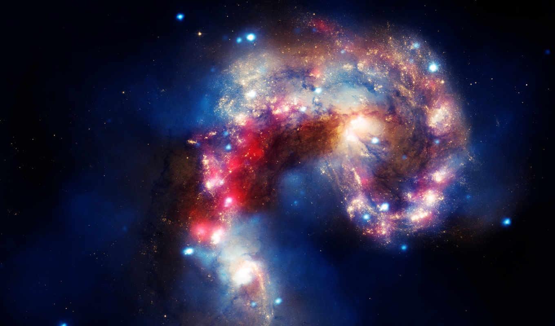 космическим, монитора, уклоном, galaxies, antennae, similar, نجوم, галактика, jpeg, ссылка, are, ngc,
