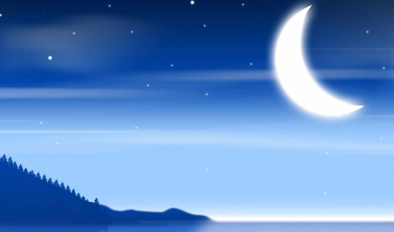 луна, минимализм, солнца, газа, дома, sector,