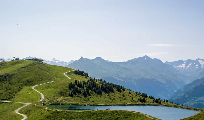гора, альпы, desktop, free, озеро, images, mountains,
