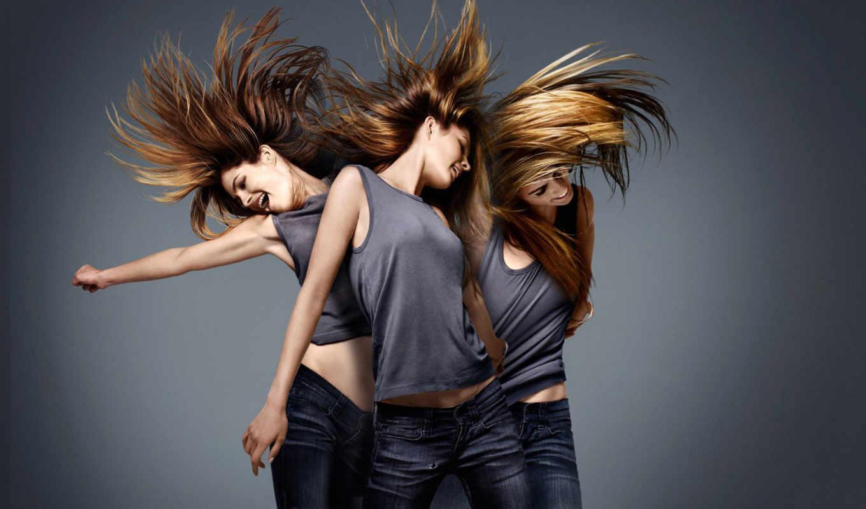 грн, волосы, только, stock, девушка,