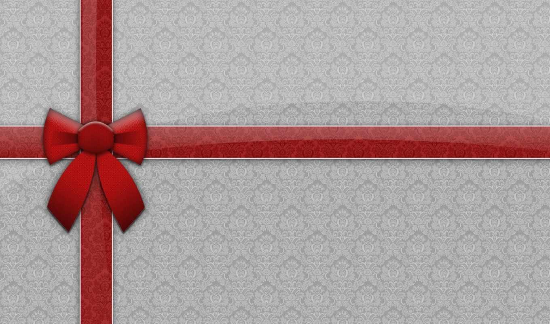 ribbon, gift, christmas,