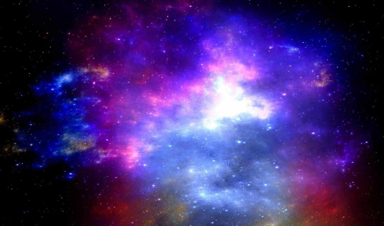 космос, nebula,
