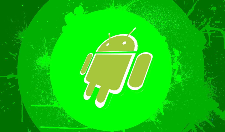 android, зелёный, chldav,