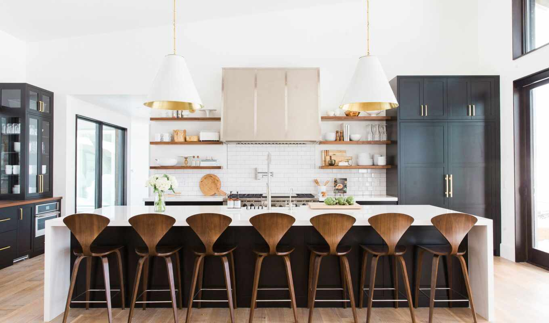 kitchen, top, табурет, шкаф