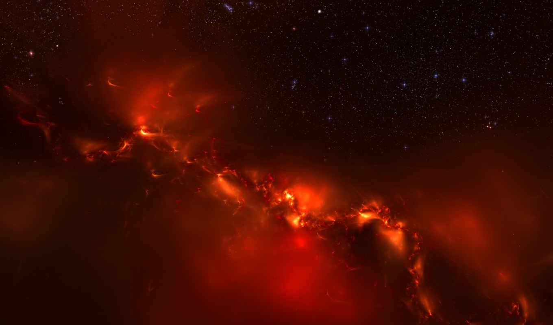 вселенная, огонь, свет, galaxy, эффекты, во, вселенной, панорама, огненные, space, cosmos, dark, stars, normal, return, graphics, nexus,