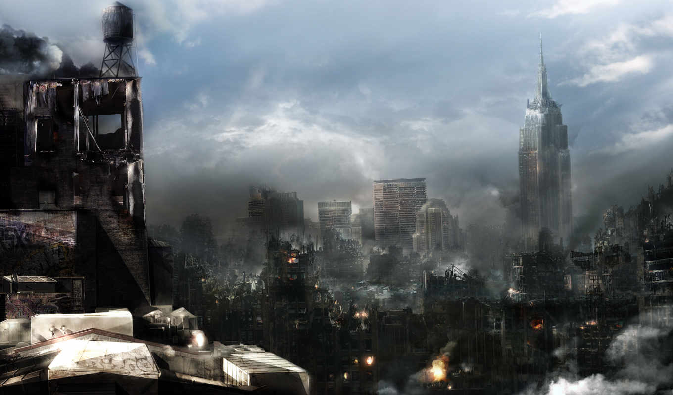 cities, architecture, prototype, apocalyptic, game, destruction, download,
