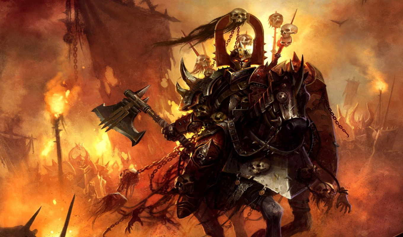 warhammer, games, chaos, space, marines, view, anime, army, mod, image, fans,