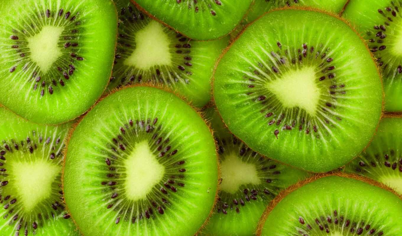 fresh, плод, fruits, slice, киви, strips,