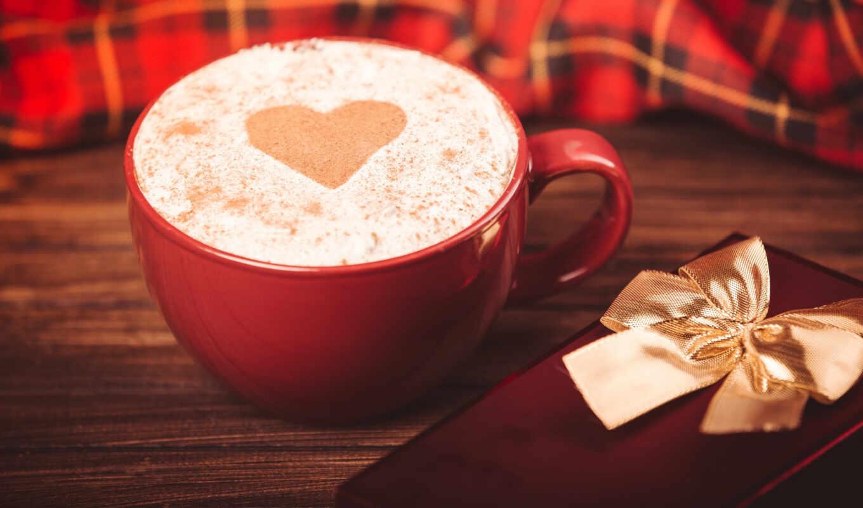 coffee, день, февраль, valentine, святая, romantic