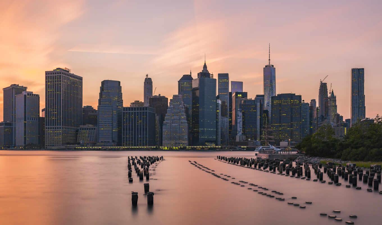 сша, visa, park, бруклин, мост, gflo, город, красивый, работать, eb