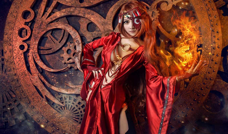 магия, поза, огонь, девушка, осень, ночь, рука, праздник, природа, ритуал, witch