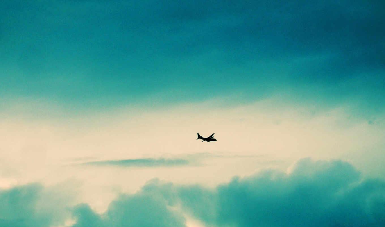 небо, самолёт, авиация, картинка, картинку,