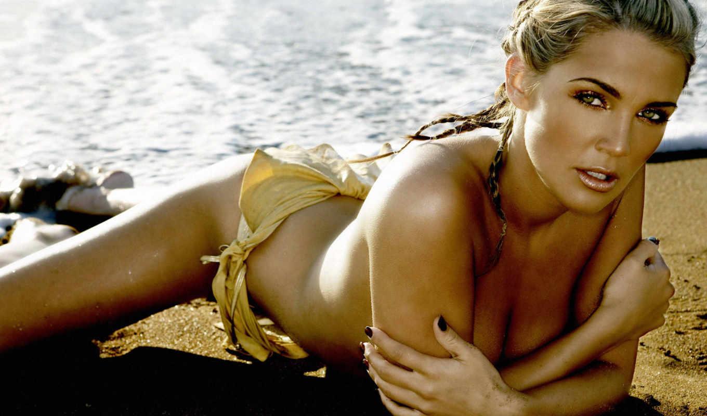 danielle, lloyd, beach, женщин, bikini, women, девушки, girl,