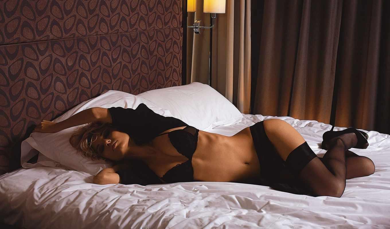 девушка, кровати, девушки, февр,