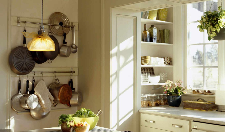 кухни, interer, dizain, маленькой,