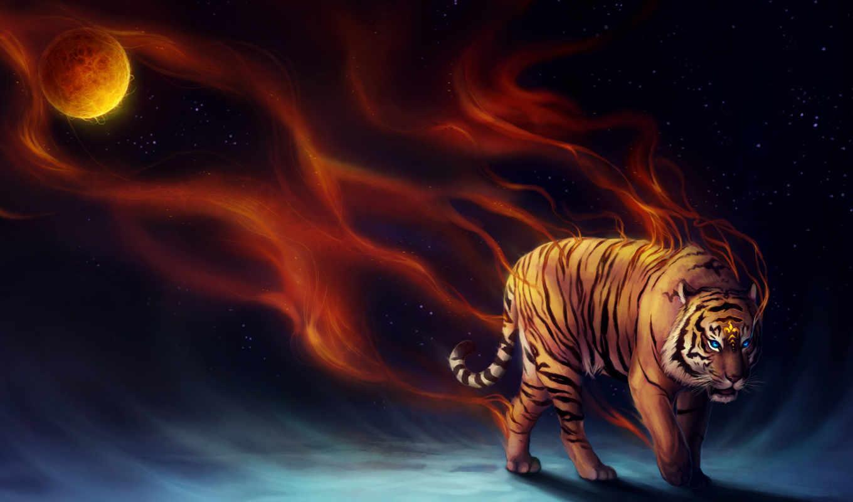 тигр, усилитель, wide, desktop,
