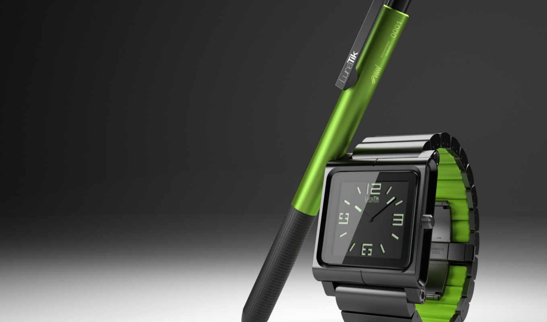 apple, ipod, nano, часы, ремешок, lunatik, перо, ремешка, ручка, мм,