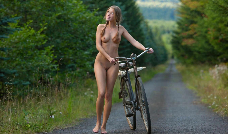 спереди, девушка, эротика, голая, вело, девушку, голую, нью, картинка, wide,