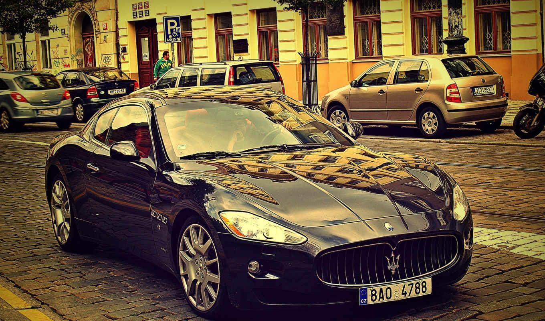 машина, автомобили, авто, высоком, daily, ауди, maserati, granturismo, европа, мостовая,