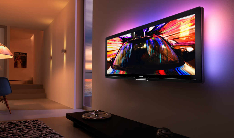 телевизор, стену, телевизора, установка, philips, позволяет, жк,