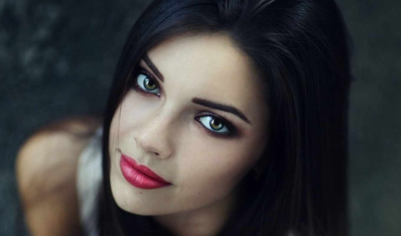 макияж, глазами, брюнеток, голубыми, глаз, зелёными, голубых,
