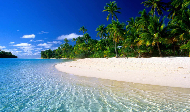 рай, земле, tropical, пляжи, позитано, water,