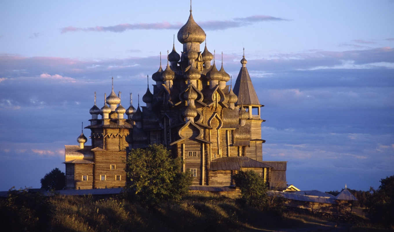 преображения, кижи, церковь, господня, россия,