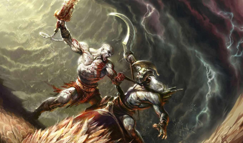 war, god, игры, широкоформатные, ascension,