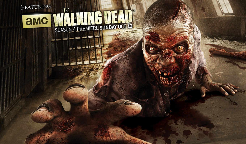 мертвецы, ходячие, выгул, dead, season, зомби, мужчины,