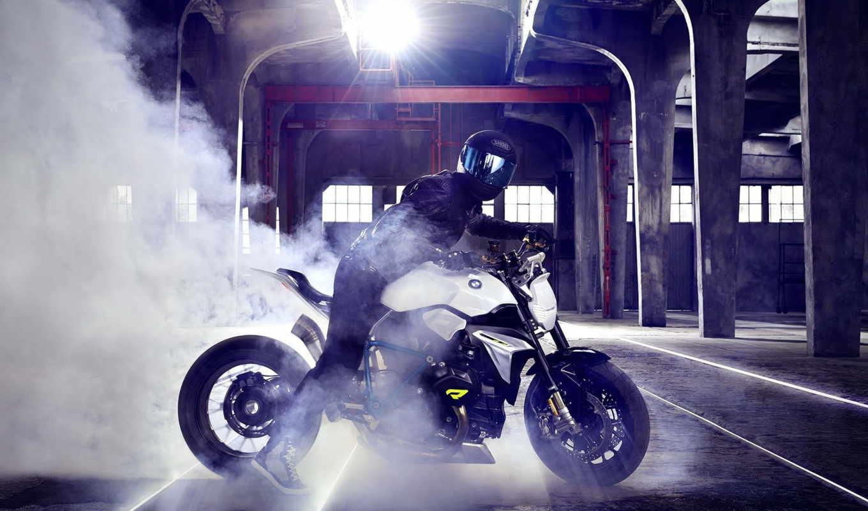 bmw, roadster, concept, мотоцикл, будущее,