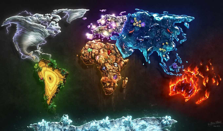 Красивые карта