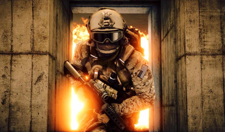 battlefield, ecran, fonds, forces, télécharger, спец, les,