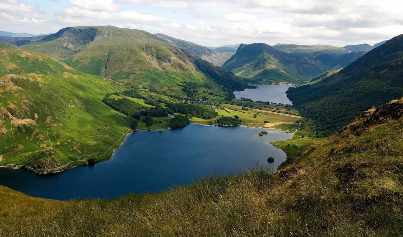 озера, грн, ущелье, панорама, опт, разрешением, mountains, lakes, landscapes, lake, nature, abstract, картинку, розница, круп, england, тетрадь,
