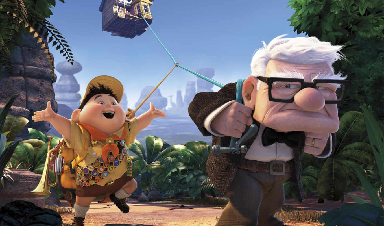cartoon, два, pixar, мультик,