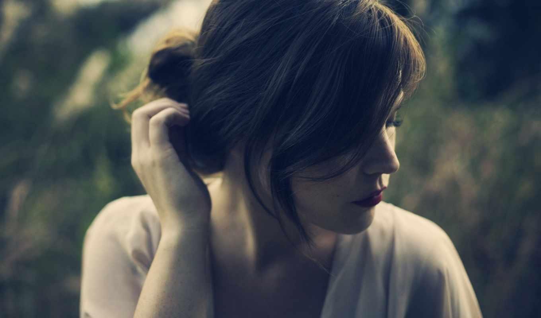 девушка, волосы, настроения, brunette, sun, волос, devushki,