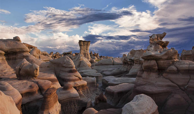 камни, природа, природы, узоры, гладкие, куст, очертания, облака, небо, форма, изображение,