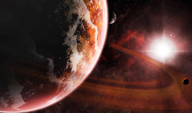 космос, планеты,