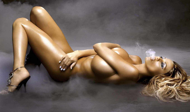 девушка, дым, девушки, голая, эротика, красивая, девушек, анимированные,